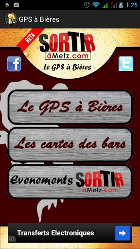 GPS à Bières - SortiraMetz.com