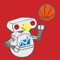MIAOH Football &  Basketball logo