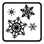 Snow wall live wallpaper icon