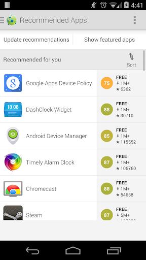 AppBrain App Market 9.7.2 screenshots 3