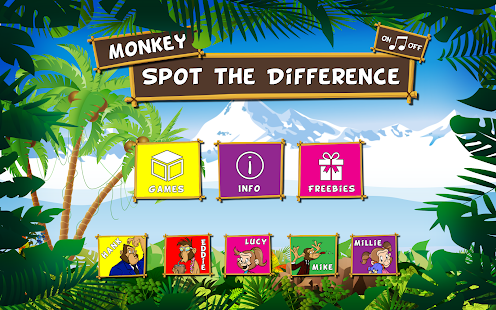 Monkey Spot the Difference- screenshot thumbnail