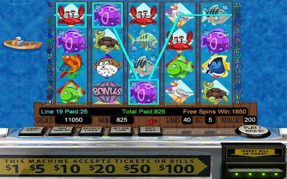 Hooked HD Slot Machine