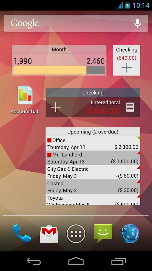 anMoney Budget & Finance PRO - screenshot