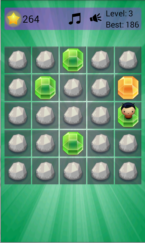 King of Gems Puzzle Game- screenshot