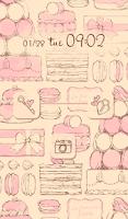 Screenshot of Cute wallpaper★La Patisserie