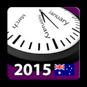 2015 Aussie Calendar NoAds