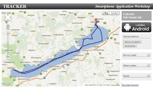 TrackerService – képernyőkép indexképe