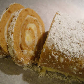 Sweet Potato Roll Cake.