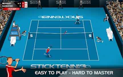 Stick Tennis Screenshot 1