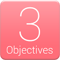 3Objectives - Motivational App icon