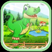 Crocodile Jungle Run APK for Bluestacks
