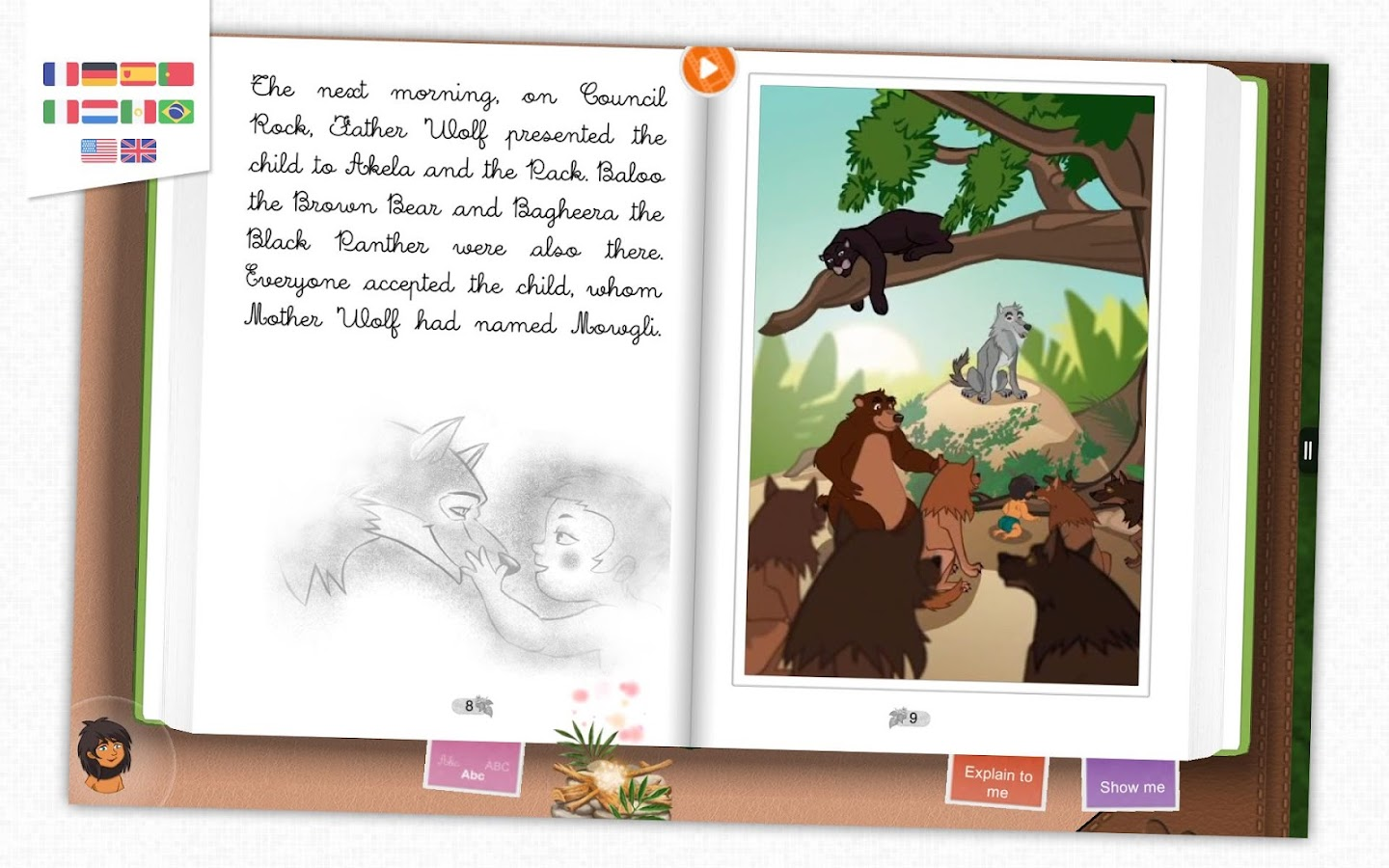The Jungle Book - Kids' tale- screenshot