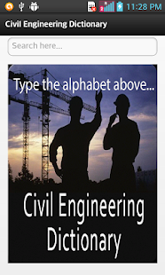 Civil Engineering Dictionary- screenshot thumbnail