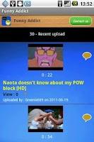 Screenshot of Funny Addict