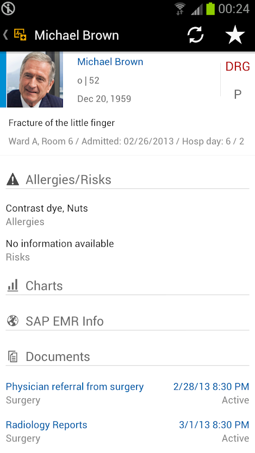 SAP EMR Unwired- screenshot