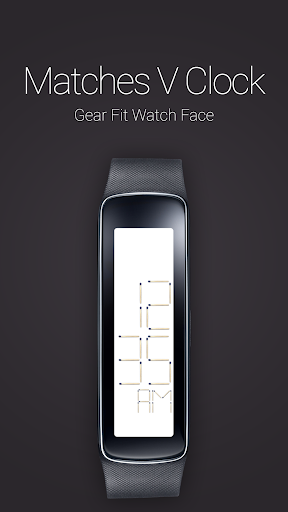 Matches V Clock for Gear Fit