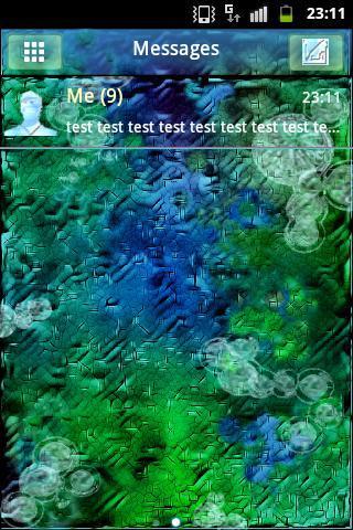 GO SMS Theme After Rain Buy