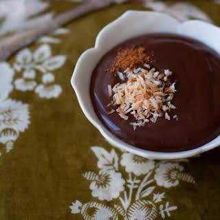 Coconut Chocolate Pudding.