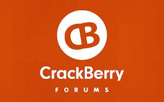 Screenshot of CrackBerry Forums