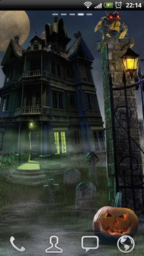 Haunted House LWP - screenshot