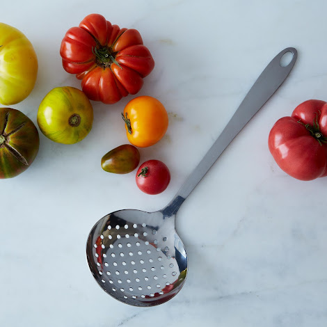 Stainless Steel Perforated Spoon