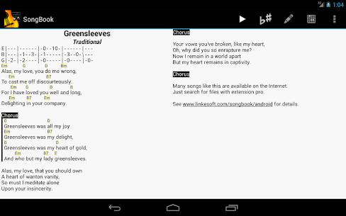 SongBook APK 4