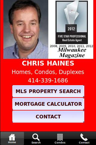 Search Milwaukee Real Estate- screenshot