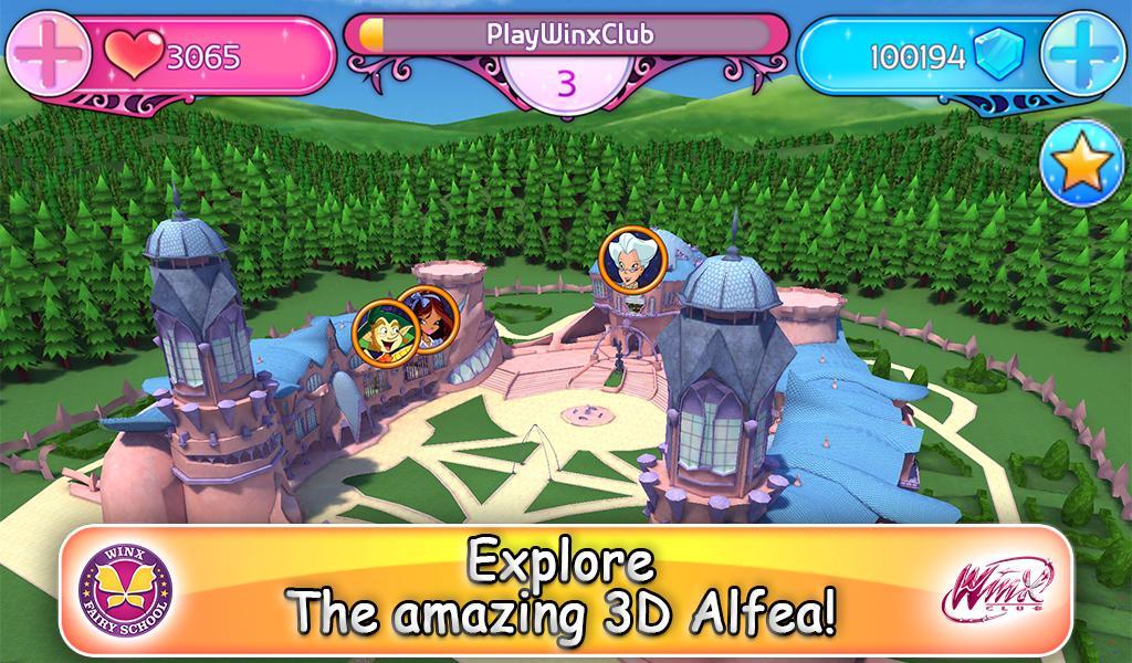 Winx Fairy School Lite screenshot 13