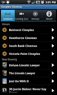 Cineplex Cinemas- screenshot thumbnail