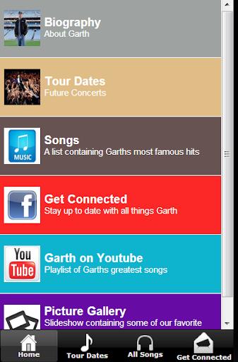 Garth Brooks Fan App
