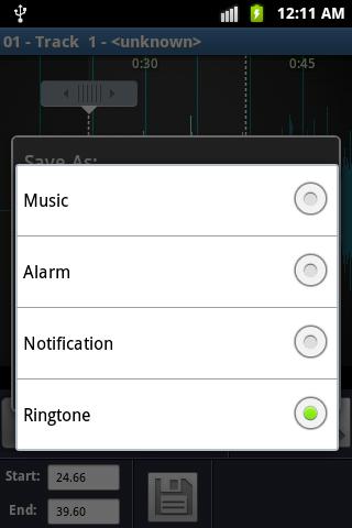 MP3 Ringtone Maker screenshot