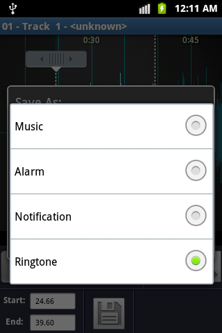MP3 Ringtone Maker- screenshot