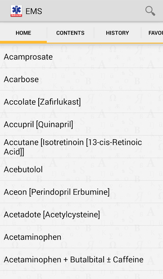 EMS Pocket Drug Guide TR- screenshot