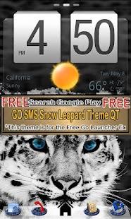 SMS Pink Leopard theme Stars - screenshot thumbnail