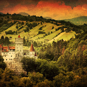 castle in the mountains by Bogdan Melinte - Buildings & Architecture Public & Historical