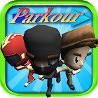 Parkour de bande dessinée icon