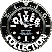 16 DIVER CLOCK LIVE BACKGROUND