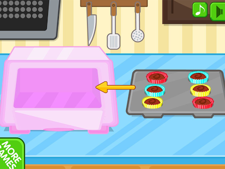 Chocolate cupcake maker 1.0.8 screenshot 560500