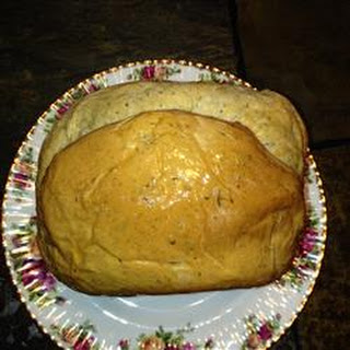 Super Easy Rosemary Bread Machine Bread.