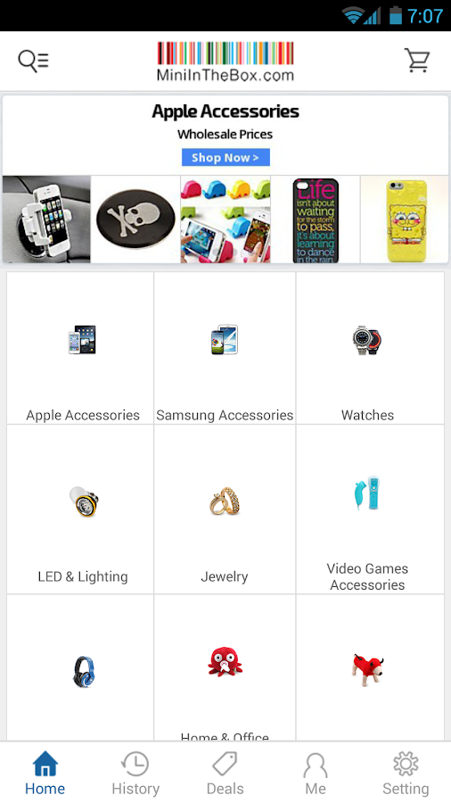 Download MiniInTheBox Online Shopping APK For Android, APK File Named And APP Developer Company Is ChinaPrices. Latest Android APK Vesion MiniInTheBox Online Shopping Is MiniInTheBox Online Shopping Can Free Download APK Then Install On Android Phone.