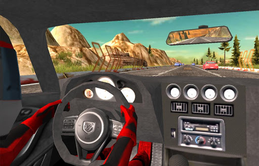 車:トラフィックレーサー(3D)|玩賽車遊戲App免費|玩APPs