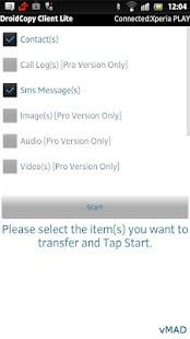 Droid Copy Lite - screenshot thumbnail