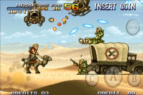 Download METAL SLUG Apk
