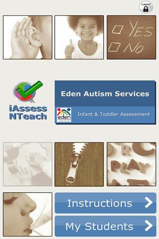 iAssessNTeach 1- Autism Series