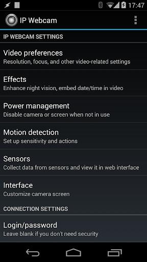 IP Webcam 1.14.20.687 (arm) screenshots 1