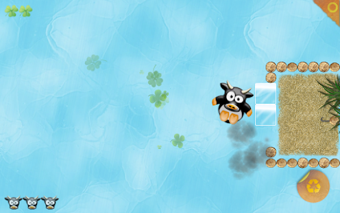 cool cows on ice- screenshot thumbnail