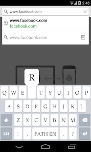 Path Input: A Swipe Keyboard- screenshot thumbnail
