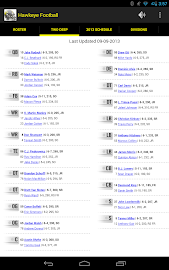 Hawkeye Football Schedule Screenshot 10