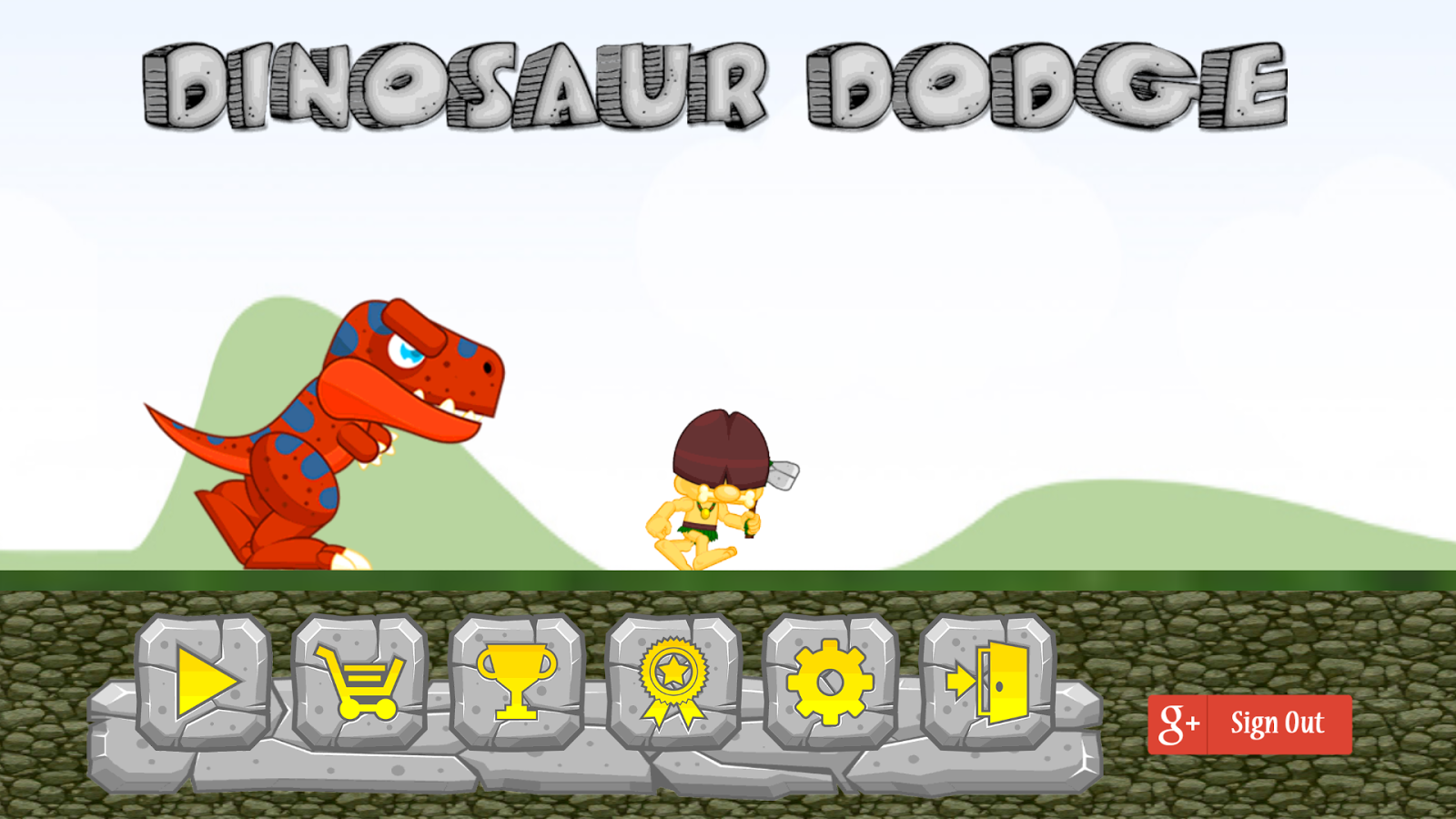 Dinosaur Dodge- screenshot