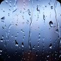 Rain on the glass icon